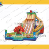 Big Inflatable Water Slides For Sale Commercial 9-3g