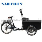 three wheel cargo tricycle bike for sale