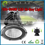 High bay light 2015 new arrival meanwell driver 150w,200w,300w ce rohs 5 years warranty ,high bay industrial lighting fixture