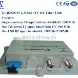 GLB3500M L-Band+TV 50~2600MHz RF Over Fiber Link/L-Band RF over Fiber Transmitter