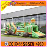 Commercial grade inflatable obstacle course/adult baby inflatable obstacle course