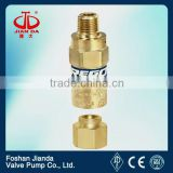 REGO brass cryogenic safety valve/low temperature safety valve