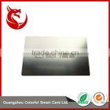 Hot selling stainless steel business metal vip discount cards                                                                                                         Supplier's Choice