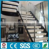 modern design DIY residential prefabricated stairs steel