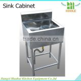 Stainless steel laundry sink cabinet for sale single bowl