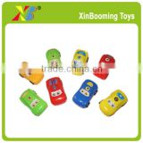 Promotion Gift, 5cm Mini Plastic Pull Back Car Toy with Sticker                                                                         Quality Choice