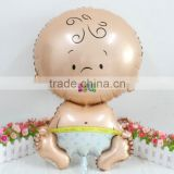 New arrival wholesale Angel baby helium balloon Birthday party decoration Cartoon Baby boy foil balloon Hot sale