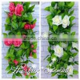 High quality decorative artificial plastic ivy factory direct wholesale price hanging rattan