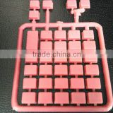 electronic plastic push button