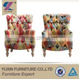 Victorian fancy stylish colorful dining room sofa chairs