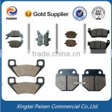 front disc motor bicycle brake shoes , motor scooter brake pad, brake lining for motorcycle