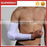 A-364 Custom Sport Arm Sleeve Sports Honeycomb Combat Arm Pad Compression Arm Elbow Long Sleeve
