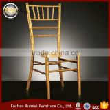 Wholesale stackable golden banquet aluminum metal wedding chiavari chair with cushion                                                                         Quality Choice