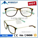 New model eyewear acetate optical frame glasses,newest trendy optical frame,cheap acetate