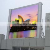 rechargeable battery powered outdoor solar advertising led display customize size P6/P8/P10