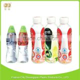Fashionable factory direct sales bottled beverage Transparent pvc shrink labels for bottles