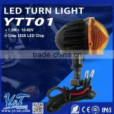 Y&T YTT01 led bullet light, motorcycle accessory headlights, Turn Signals Indicators for motorcycle