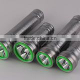 2 D size or 2 aa size dry battery / led flashlight /torch
