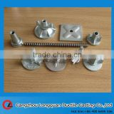 Construction parts hot rolled tie rod for formwork system