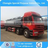New design new arrival high quality hot selling customized bottom price FAW 8X4 31000L flammable liquid tanker truck