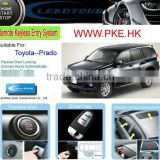 RFID Lock/Unlock Remote Start Car Alarm with Keyless Entry Smart Push Button Start Engine for Toyota Prado