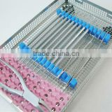 stainless stee perforated sterilization dental tray(Y502)