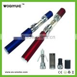 Pen style concentrate container electronic cigarette starter kits huge inhale vapor drip tip
