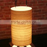 Wood venner iron base solar table lamp,iron base solar table lamp,solar table lamp T4027-20