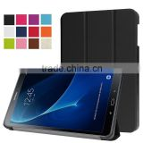 three fold flip leathe case cover for samsung TAB A 10.1