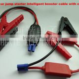 12v car battery jump starter intelligent booster cable with clamps for emergency tools portable car jump starter
