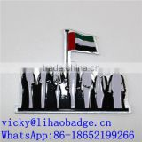 2016 new custom UAE lapel pin,magnetic national day pin badge,UAE promotional gift pin bage