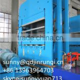 Qingdao Rubber Product Making Machinery / Car Floor Mat Hydraulic Vulcanizing Press / Rubber Plate Vulcanizing Machine