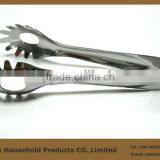 stainless steel spaghetti servers tongs