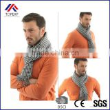 2016 New autumn & winter mens scarves,classical Gird pattern Man Scarf shawl/fashion Cotton Cashmere Knitting Wrap