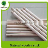 Wholesales guangxi factory price wooden mop handle natural wood stick for sweeping tools