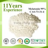 USP Standard 99% Melatonin Powder, Top Quantity Melatonin Manufacturer