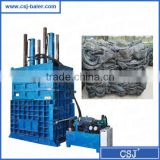 Vertical Waste Truck Tire Recycling Machine, Tires Press Compactor for Sale