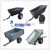 tow cart trailer atv timber trailer