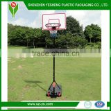 Plastic Movable Basketball Pole and Backboard