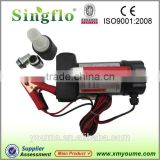 Singflo 15m head 40L/min 12 volt small electric fuel oil transfer pump