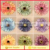 African chrysanthemum flowers head Flower Artificial silk flower mixed colors artificial flowers wedding home decor