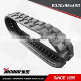 skid steer rubber track T320x86 T450x86 T450x84 four popular tread pattern
