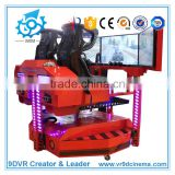 2017 New Arrival Appearance Electric Rotation Racing Car Simulator with car driving simulator