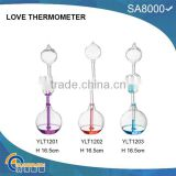 Lover gift glass love thermometer