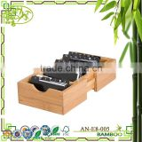 Aonong Graduated File Folder Organizer Bamboo