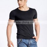 wholesale cheap summer short sleeves cotton mens plain t-shirts
