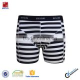 Comfortable Cotton Stripe Yarn Dyed Boxer Short Men Underwear/Design Your Own Mens Underwear