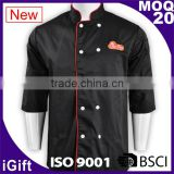 WRAP audited factories chef shirts sale executive chef uniforms for restaurant staff