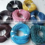 39jewelry cords 1mm/2mm/ 3mm/4mm/5mm/ smooth round jewelry cords geunine leather cords