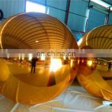 Hot sale Large Mirror Balls floating mirror ball inflatable silver balloon for advertising